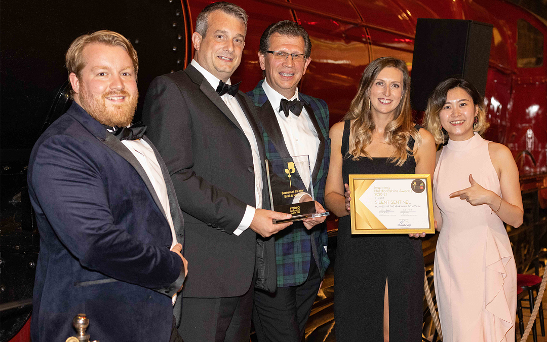 Silent Sentinel scoops two top awards at 'magical' Chamber of Commerce ceremony