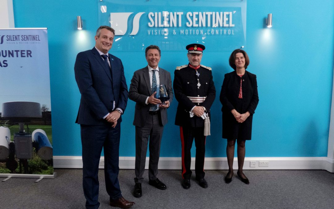 Silent Sentinel Receive Queen's Award for International Trade